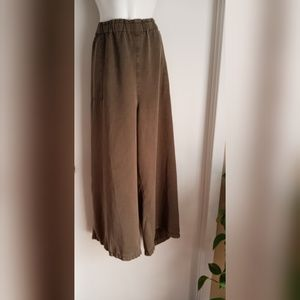 New Wide Leg Paper Bag Pants Size 2X